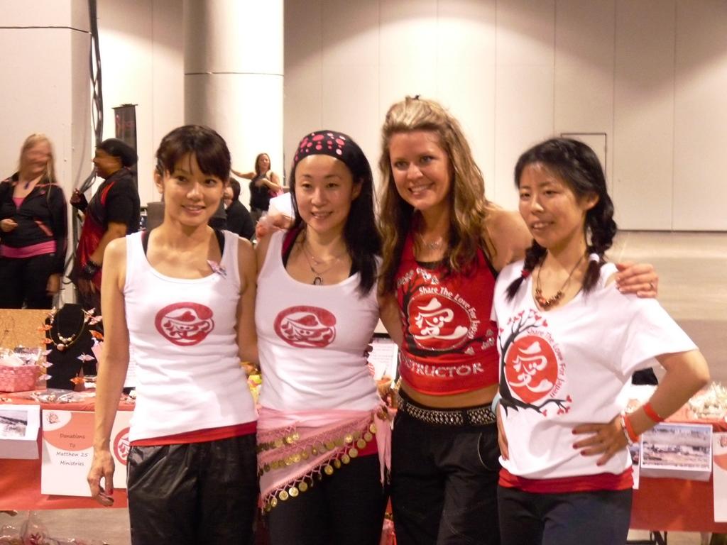 Eri, Hiromi, Robin, and Asuka