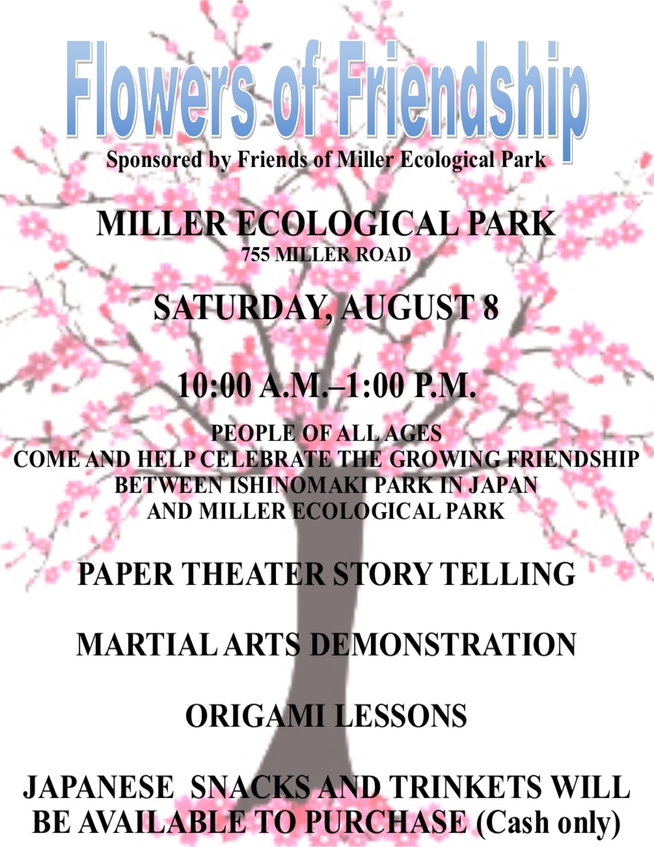 Flowers of Friendship Flyer-Poster (Final)