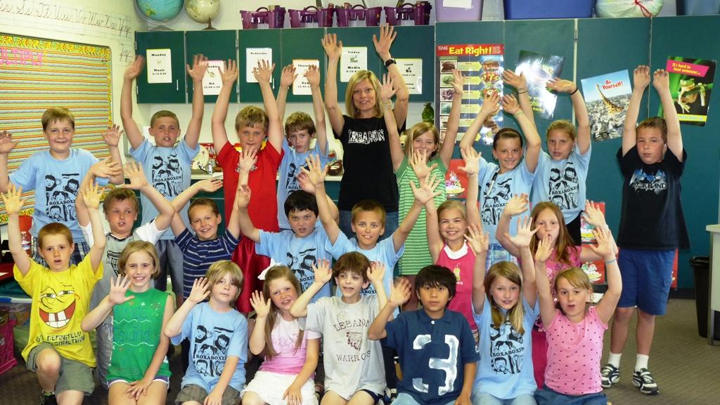 Julie Mehl's 3rd Grade Class