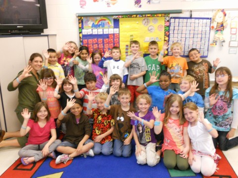 Amy Mahler's 1st Grade Class at Bowman Primary School