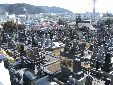 Yonemoto graveyard (Emiko's family)
